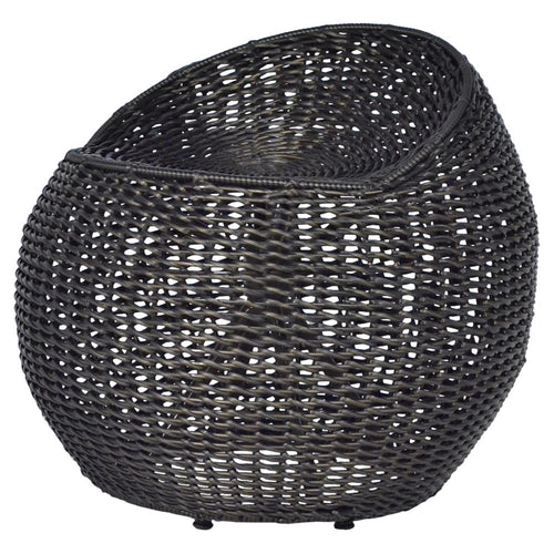 PALEO BLACK WICKER OUTDOOR SWIVEL STOOL for $1650.00