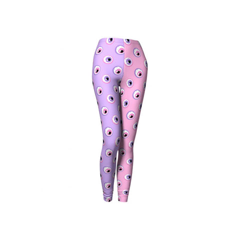 Pastel Eyeball Leggings
