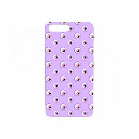 Lilac Eyeballs Phone Case