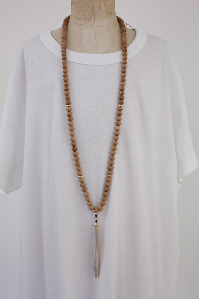 8mm Zen Buddhist Mala Necklace