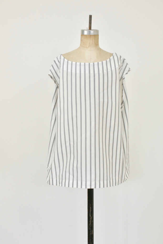 KEY Top Grey Stripe