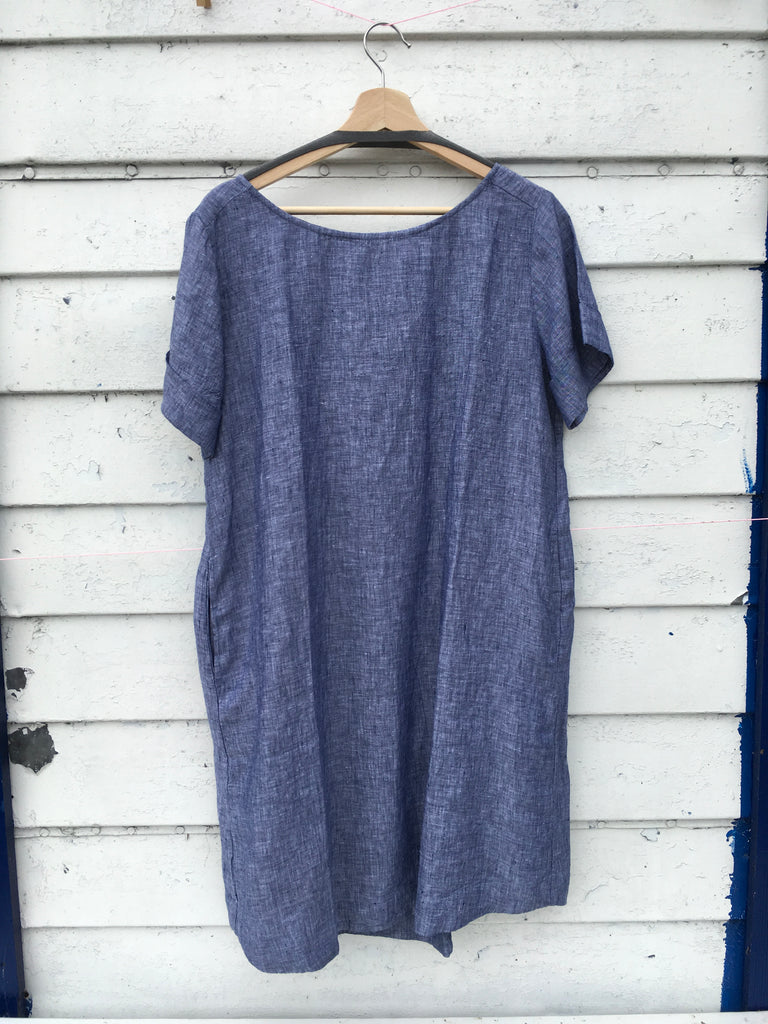 Hinata Dress - Navy