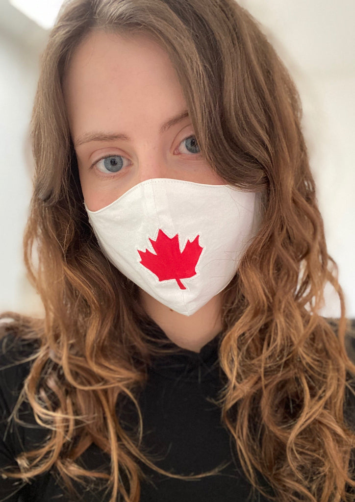 Maple Leaf Face Mask