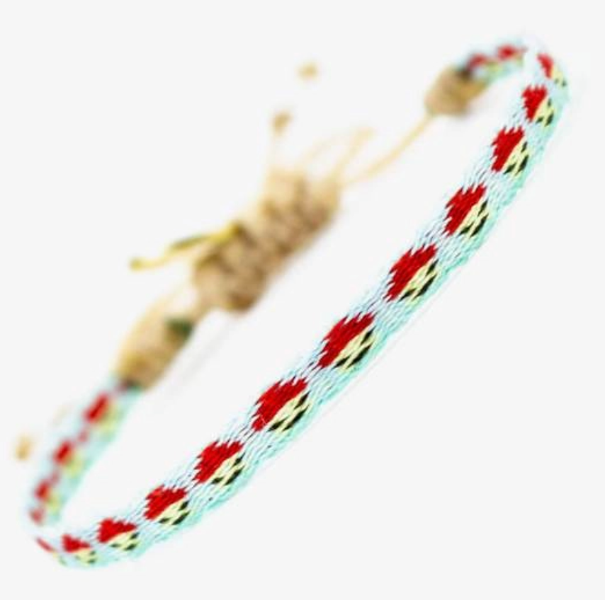 Guanabana Argantina Kid's Bracelet - Red & Blue