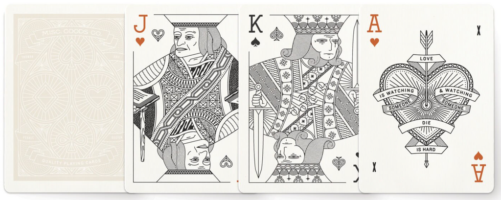 Misc. Goods Co. Playing Cards.