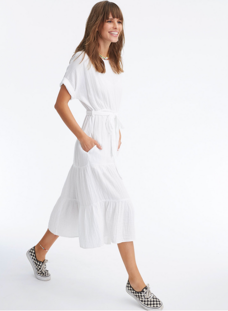 Aeryn Dress White