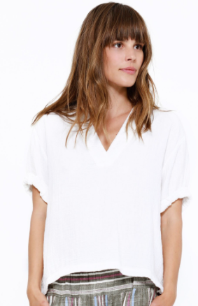 Avery Top White