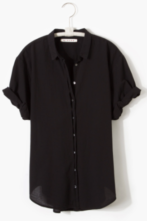 Channing Shirt Jet Black
