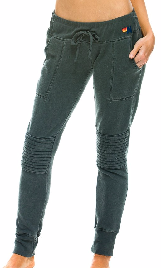 MOTO - WOMENS SWEATPANTS CHARCOAL