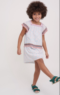 GIRLS CORA OCEANA DRESS