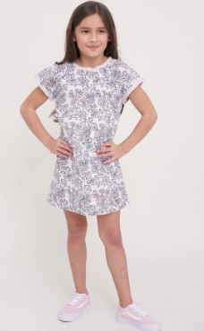 GIRLS FLORA AKARI DRESS