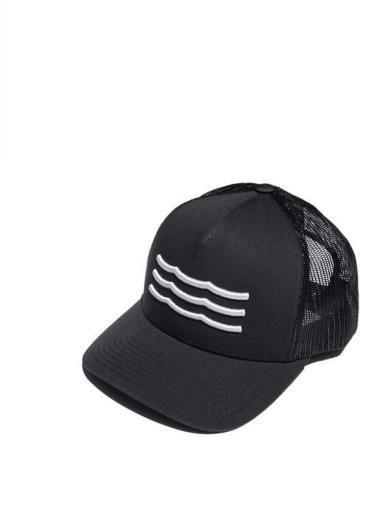 WAVES MESH BACK HAT navy