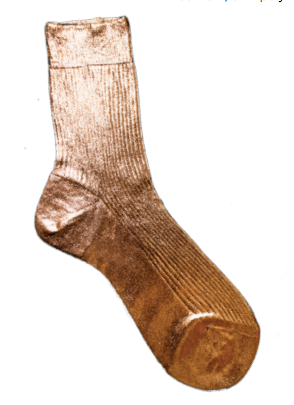 Laminated Silk Socks