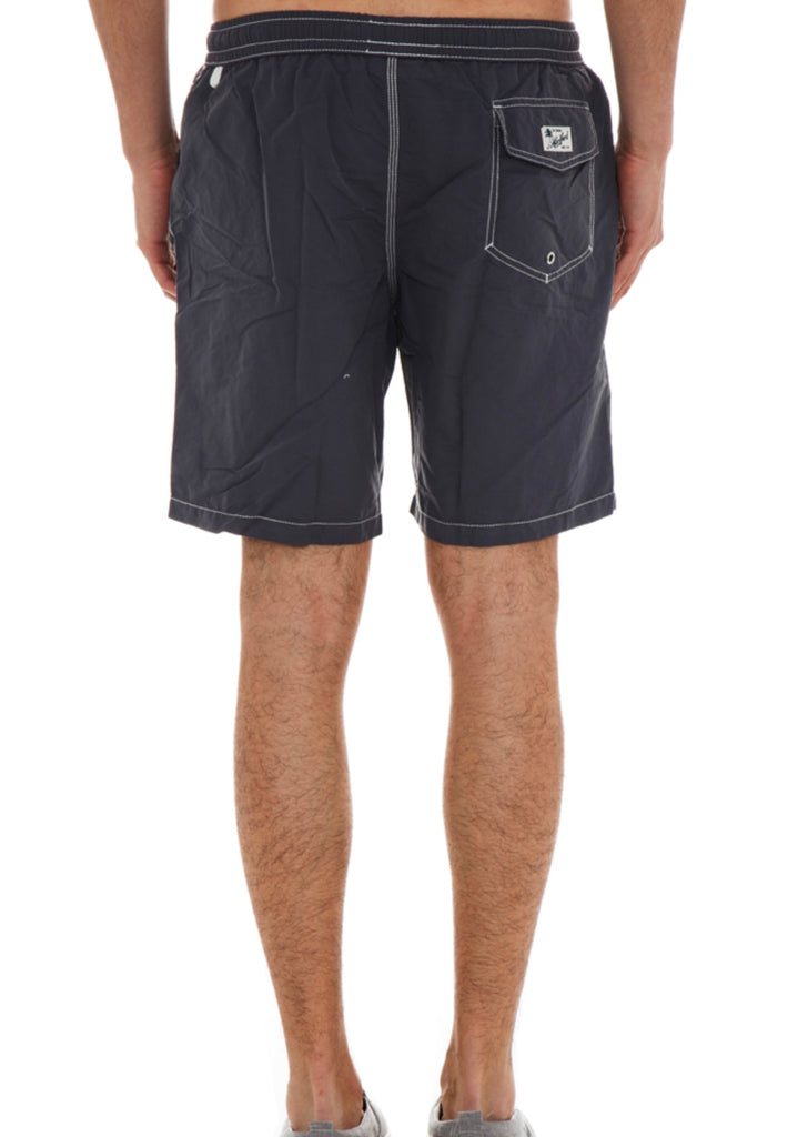 Regular Swim Swimshort in Charcoal