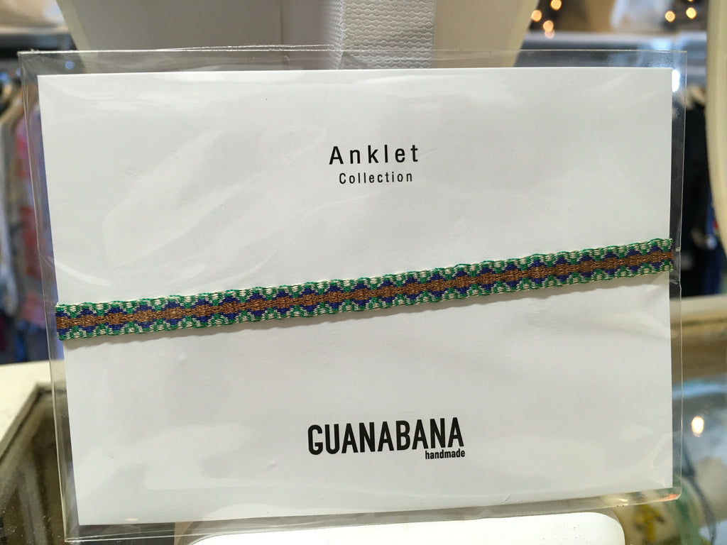 Guanabana Anklet