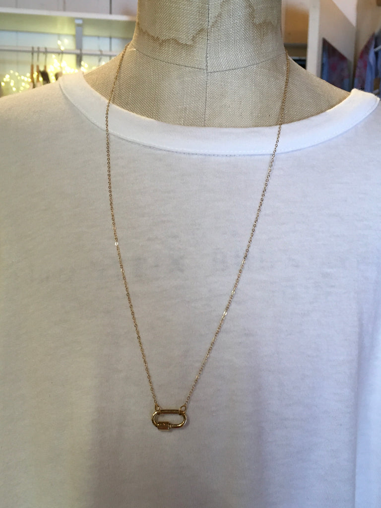 "22"" Double Ended 14K Gold Chain"
