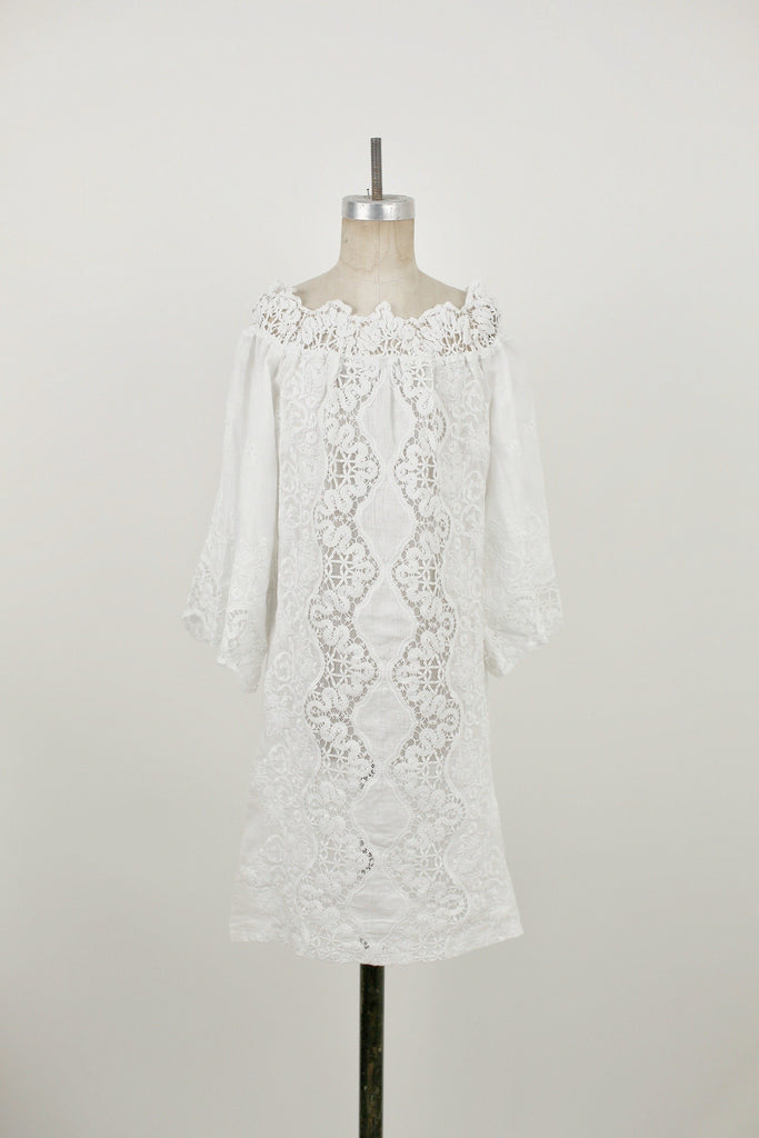 Triangolo Bianco Dress