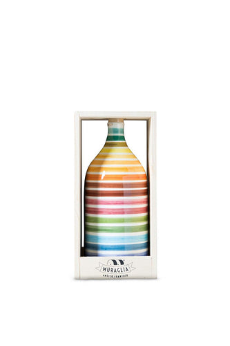 Muraglia Extra Virgin Olive Oil 'Rainbow' Magnum terracotta jar 1500ml