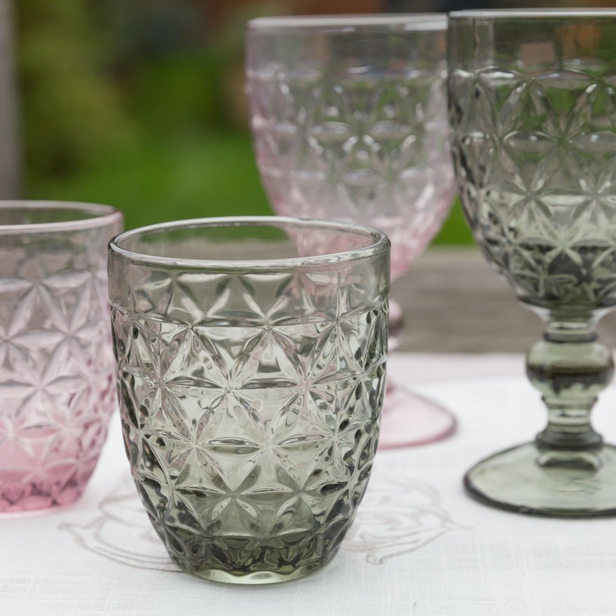 Tognana Abigail Glass Tumblers - Cyclamen - Box of 6