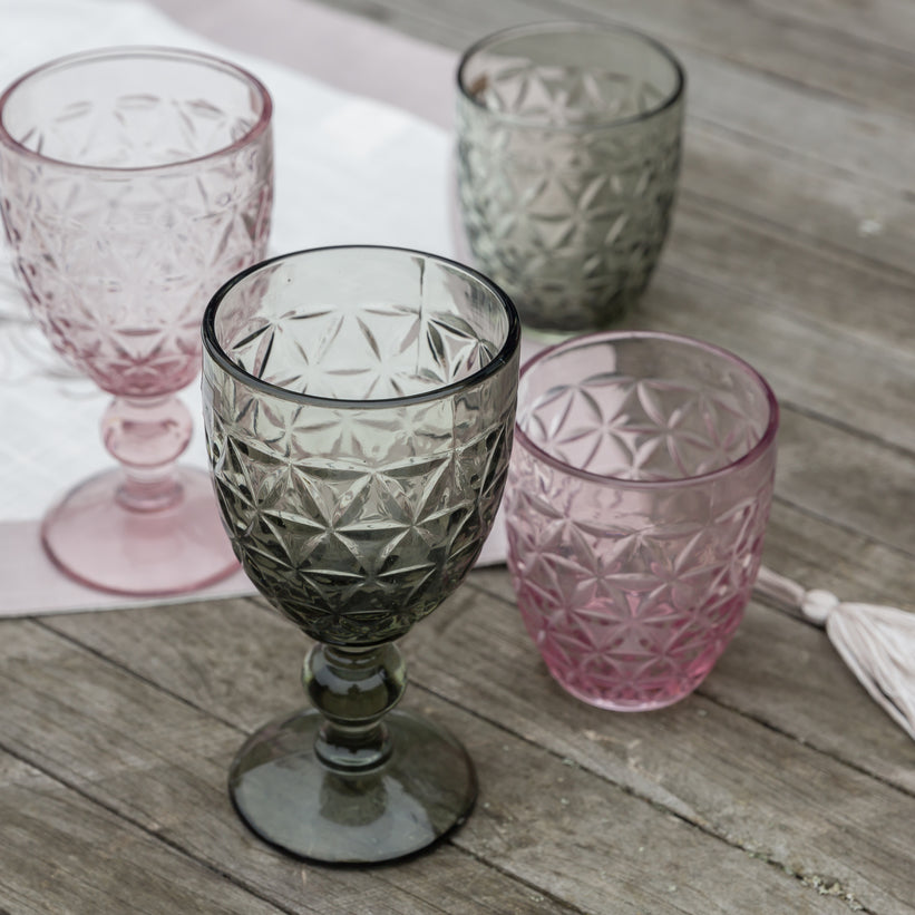 Tognana Abigail Goblet - Grey - Box of 6