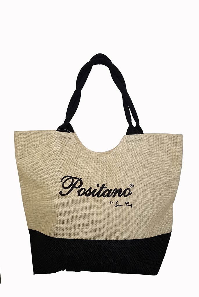 POSITANO Beach Jute Bag.