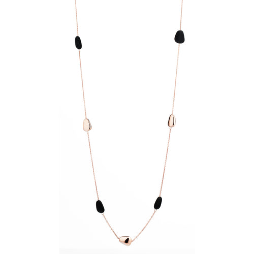 MARCELLO PANE - Long Pebble Necklace