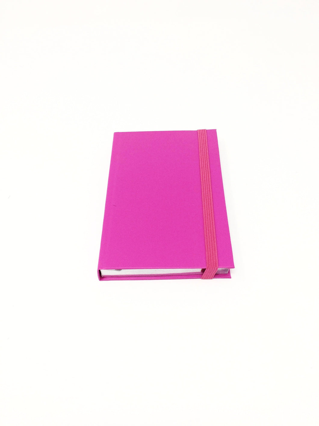 Italian small pink lined notebook