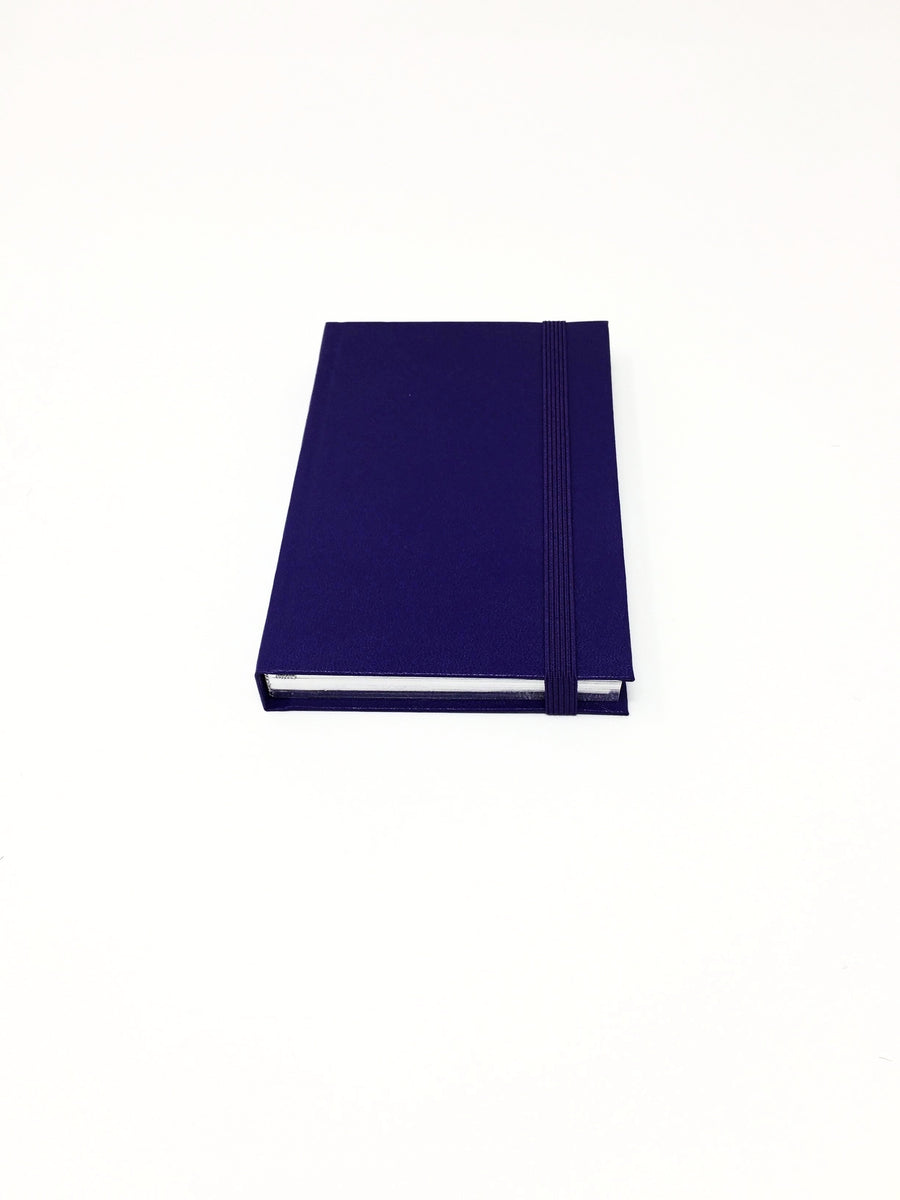 Italian small purple lined notebook