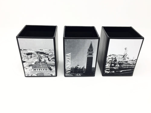 Giemme Box pen holder - ROMA