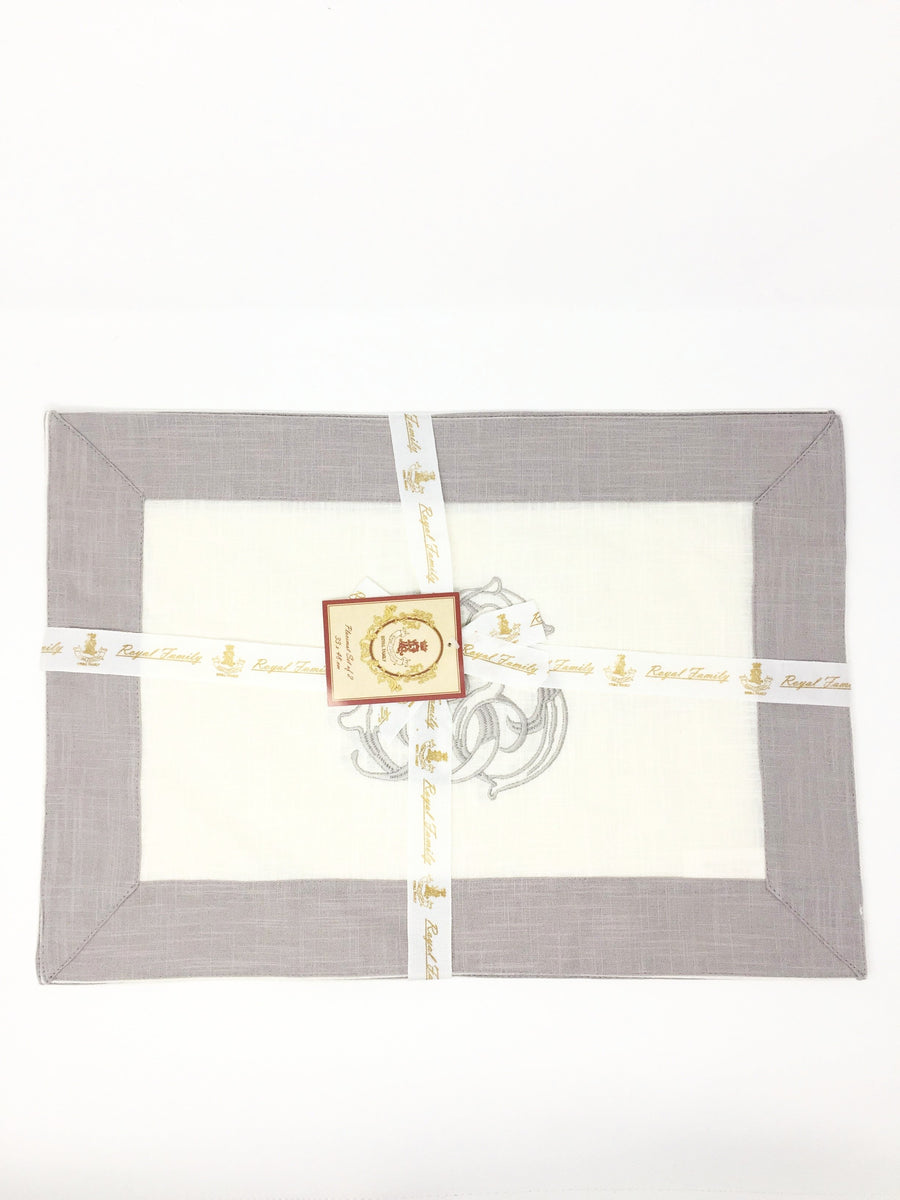 royal family italian linen place mat