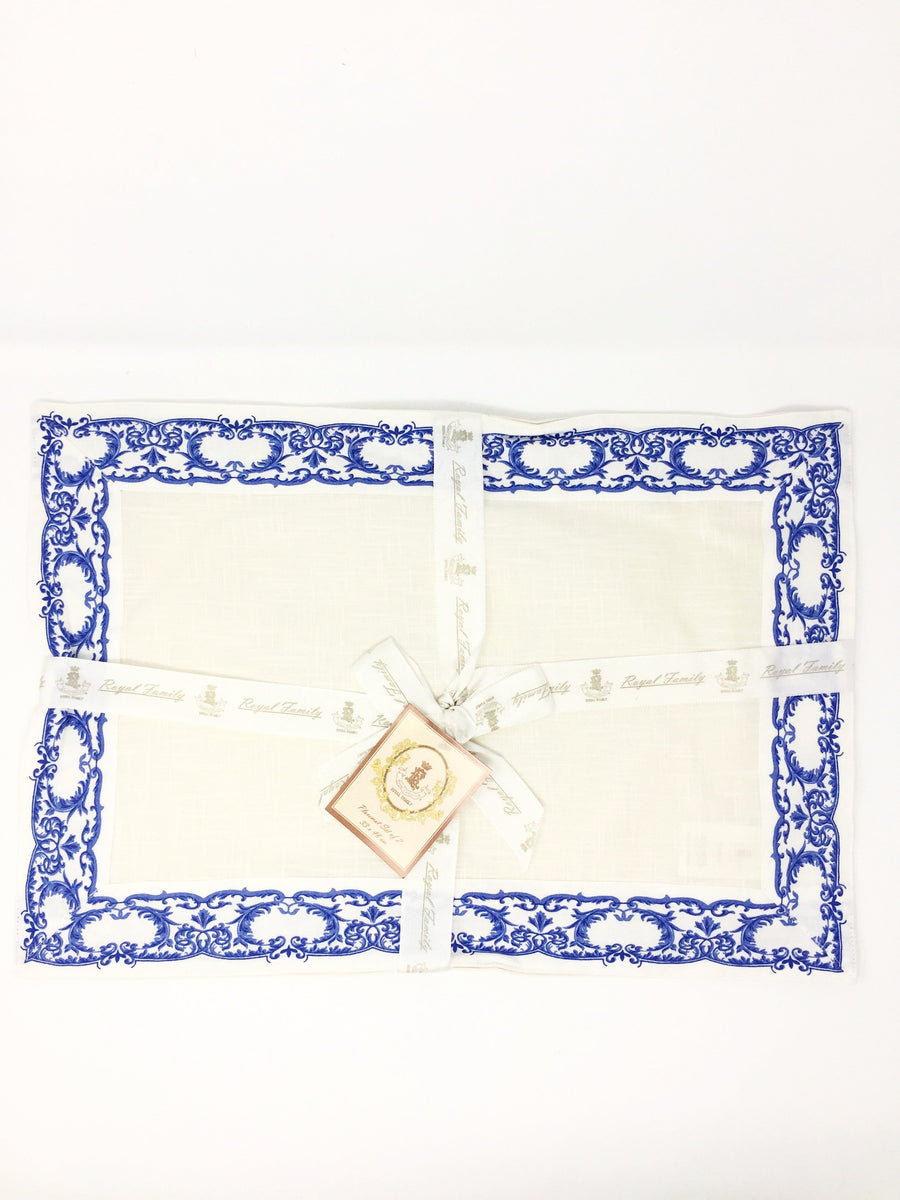 italian linen place mats from royal family