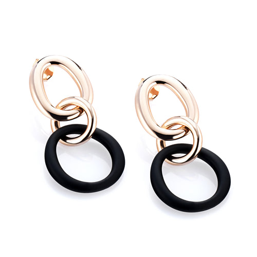 MARCELLO PANE - Hoop Drop Earrings