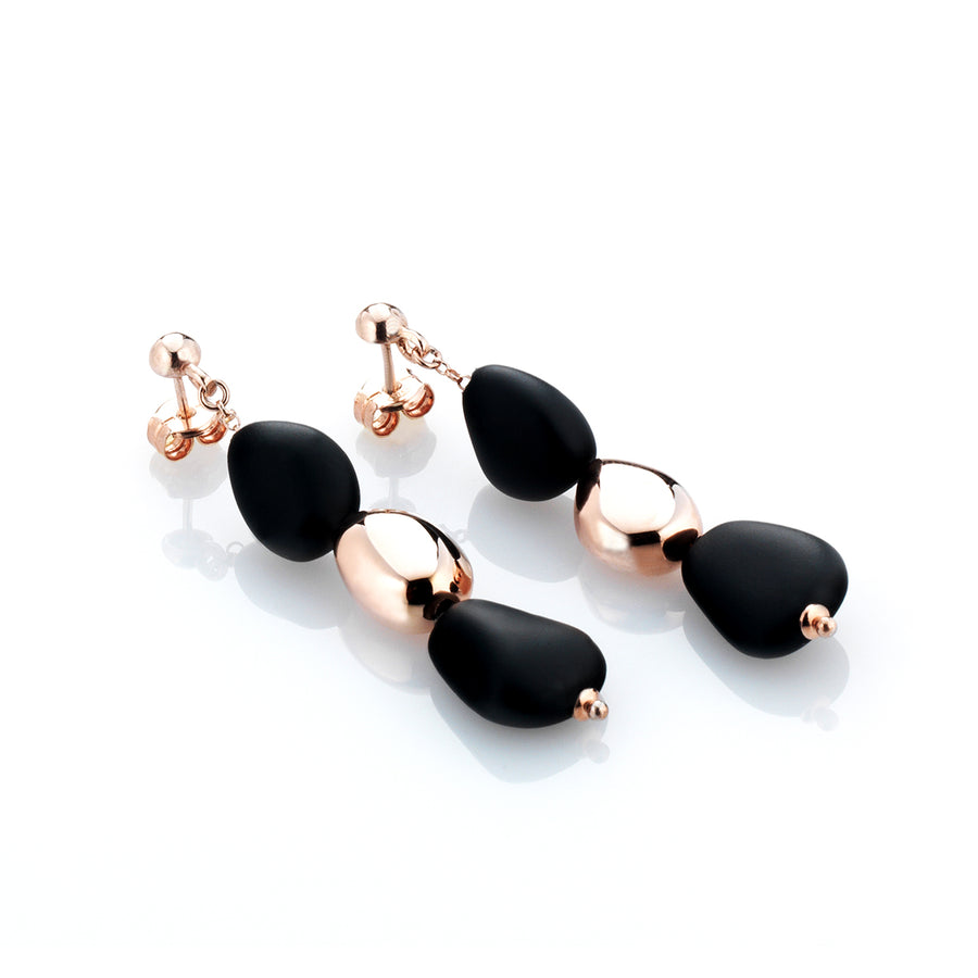 MARCELLO PANE - Pebble Drop Earrings