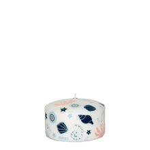 Pernici Candle - Sea Treasures Pink/Light Blue/Blue 6 x 10 cm