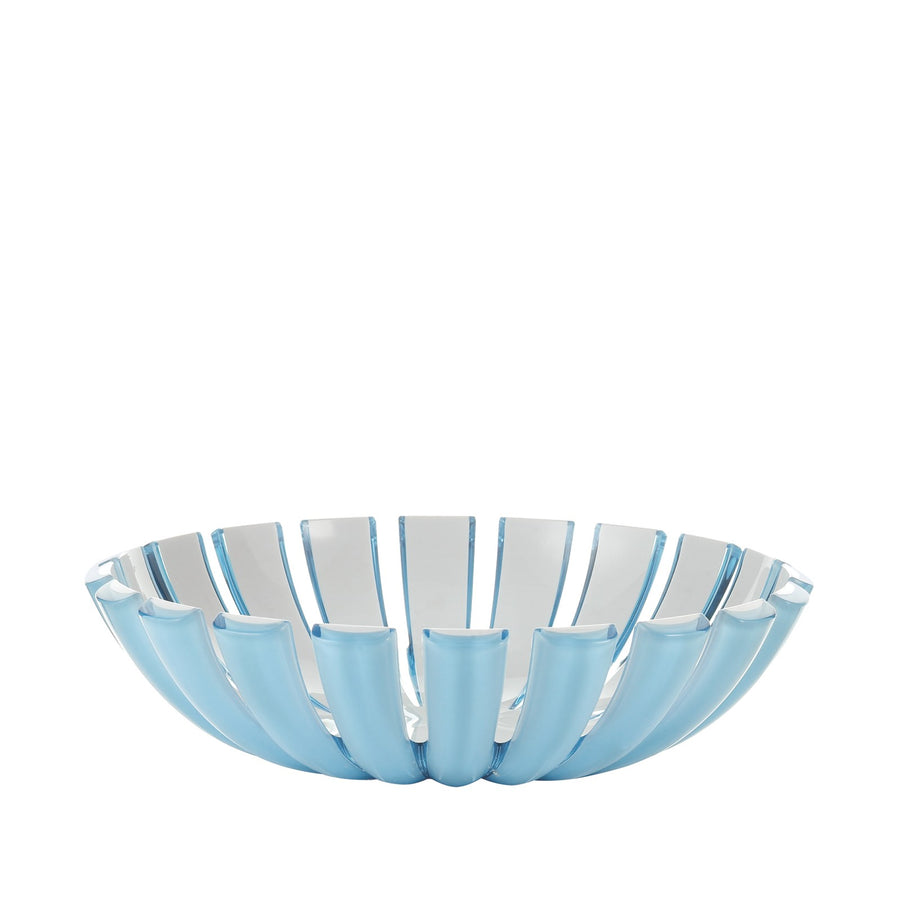 Guzzini Grace Basket- Blue / White