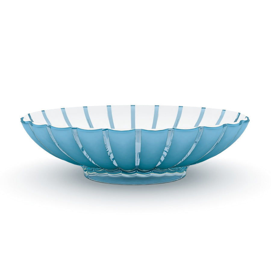 Guzzini Centrepiece Bowl Grace - Blue / White
