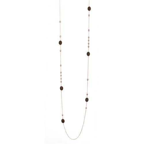 MARCELLO PANE - Long Multi Pebble Necklace