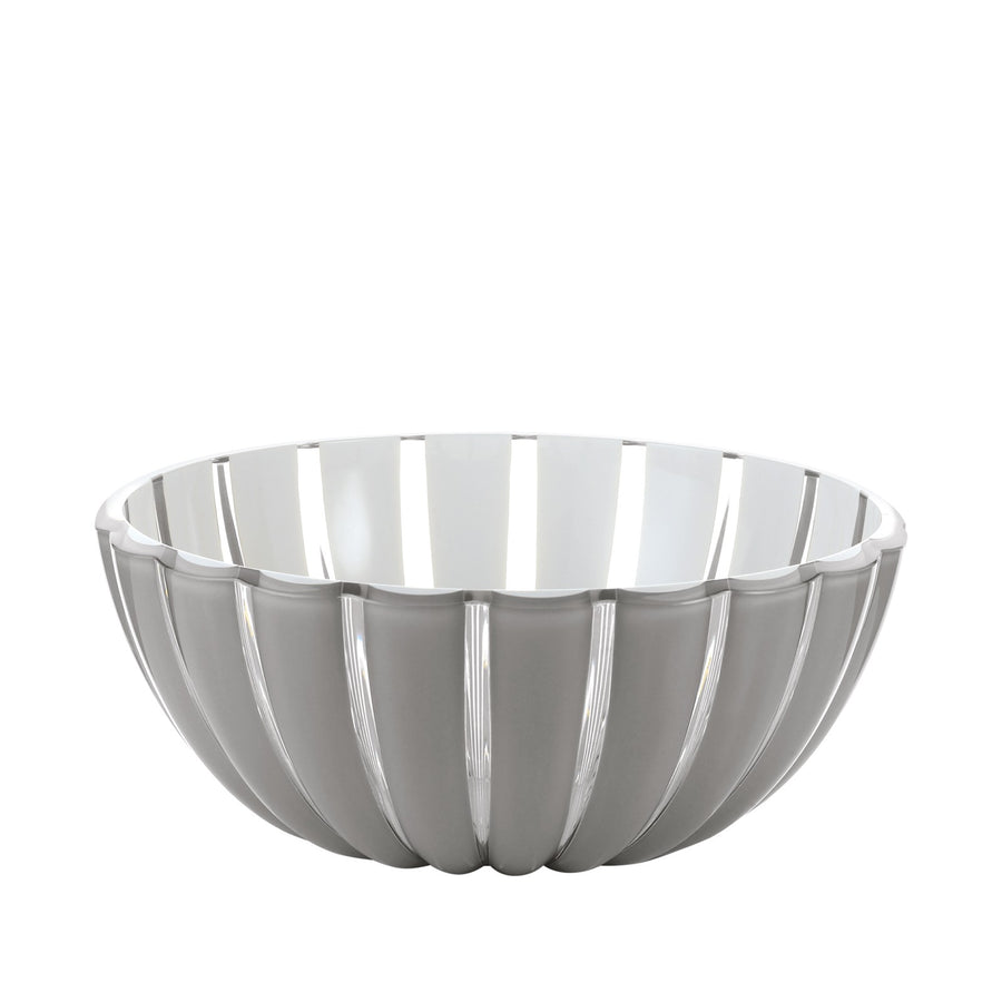 Guzzini Bowl Grace - Grey / White Size L