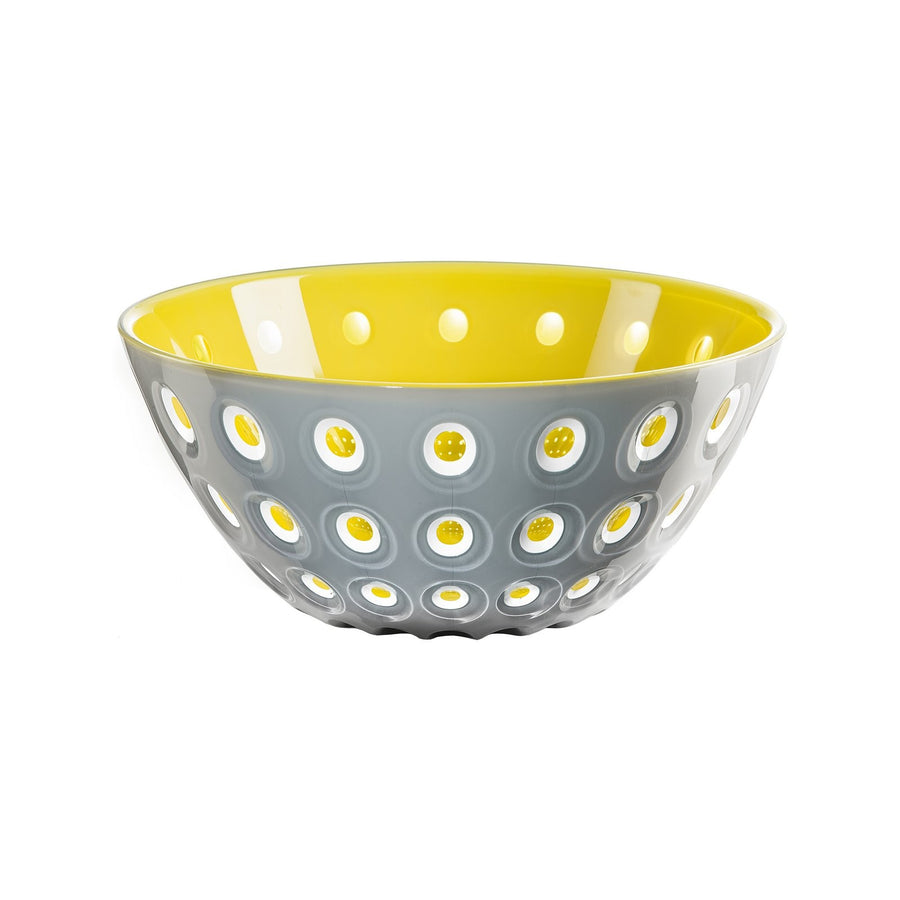 Guzzini Bowl Le Murrine Yellow / Grey