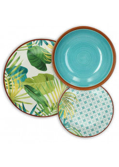 Tognana Table Set 18 piece - Jungle
