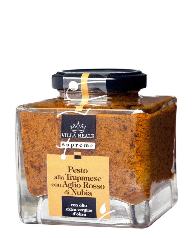 Villa Reale Supreme - Italian Trapanese Pesto with Red Garlic from Nubia 180g