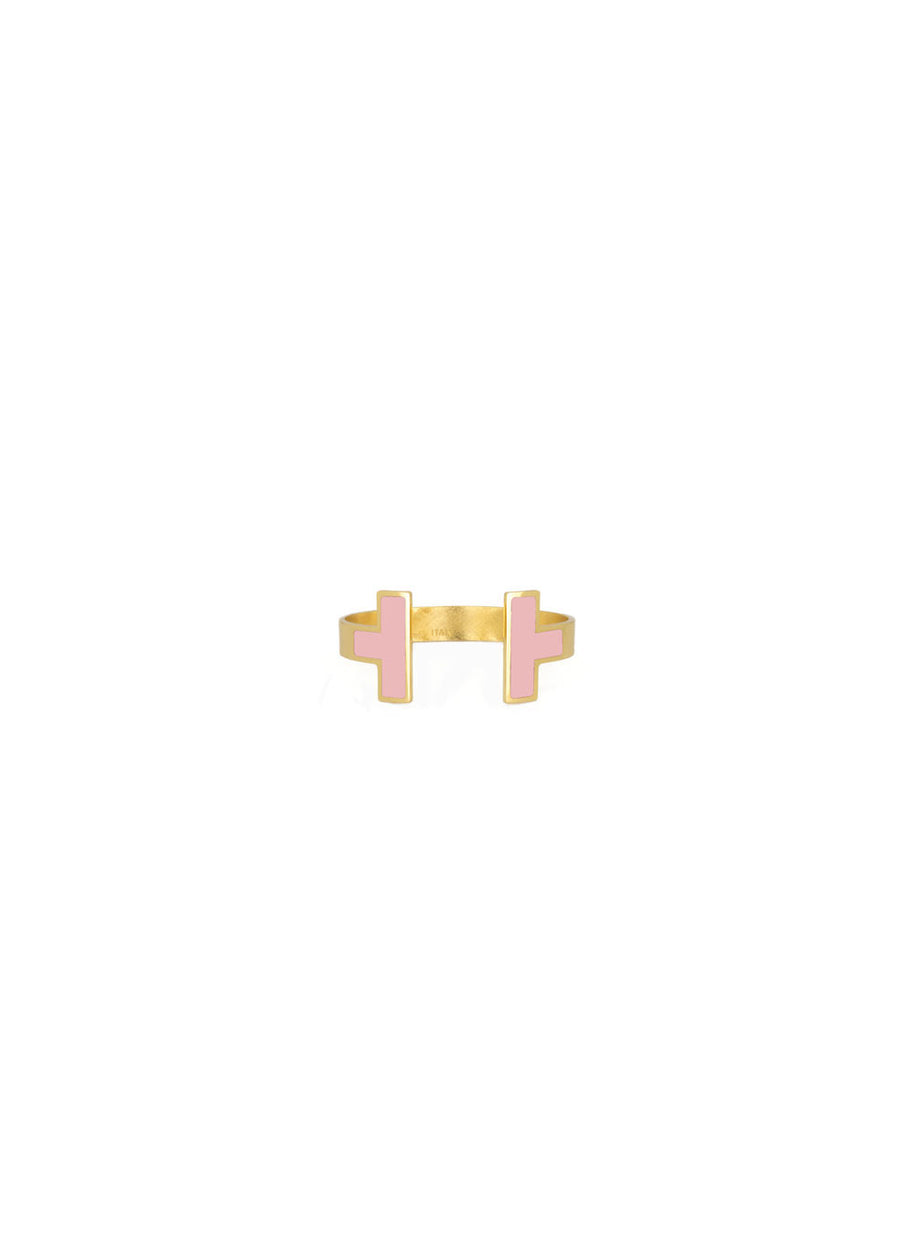 Francesca Bianchi -  Ring Size 16 to 19  - Pink