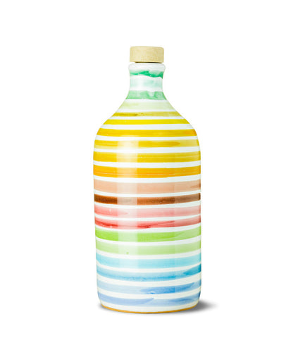 Muraglia Extra Virgin Olive Oil 'Rainbow' terracotta jar 500ml