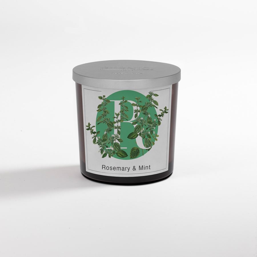 Pernici Elementi Candle - Scented Candle - Rosemary & Mint 200 gram or 350 gram