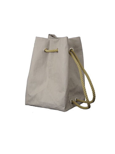 Dafne Pascolini Recycled Cellulose Fibre Rucksack - Grey
