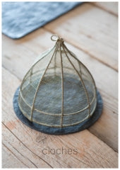Fiorira un Giardino Medium Conical Linen Bell Food Cover D20 X H18CM