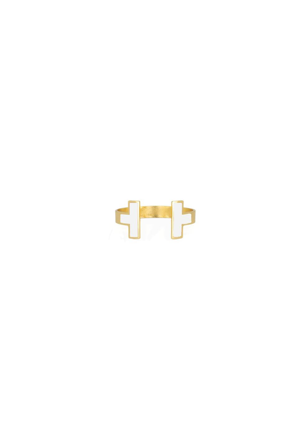 Francesca Bianchi -  Ring Size 16 to 19 - White