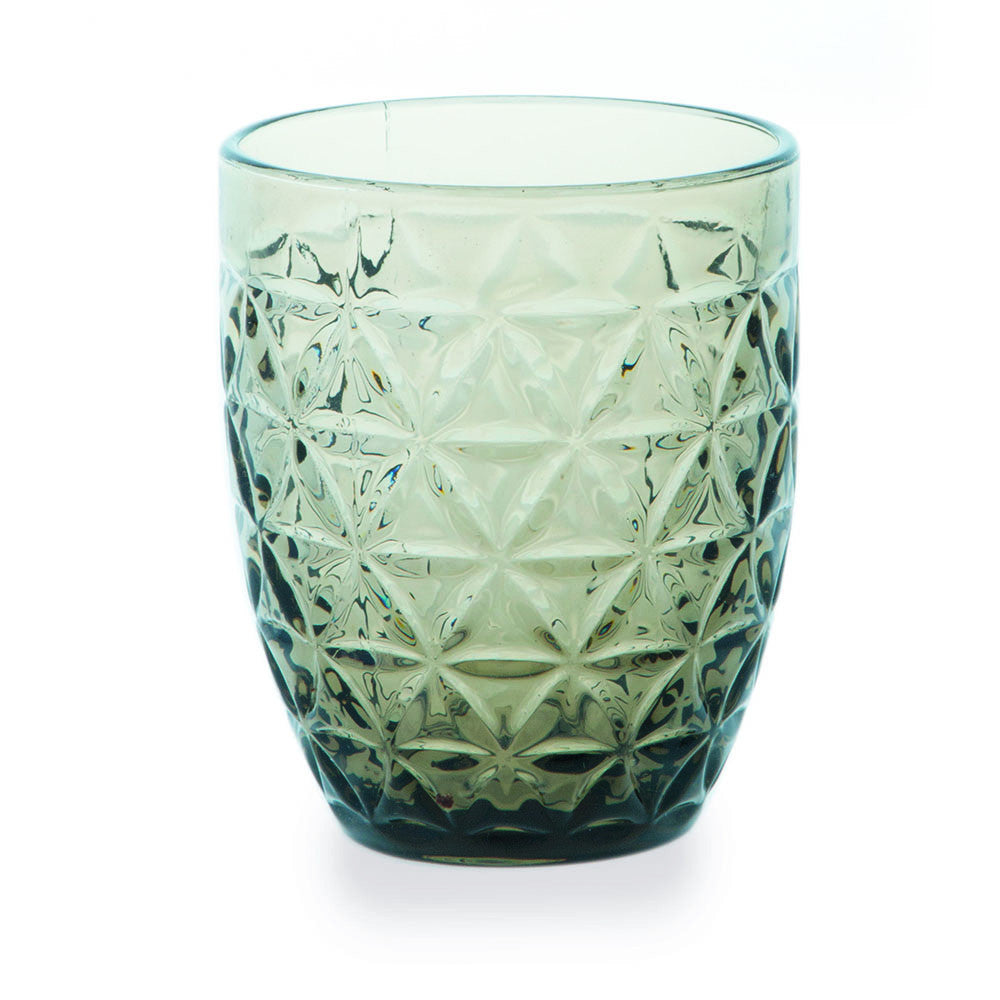 Tognana Abigail Glass Tumbler - Grey - Box of 6
