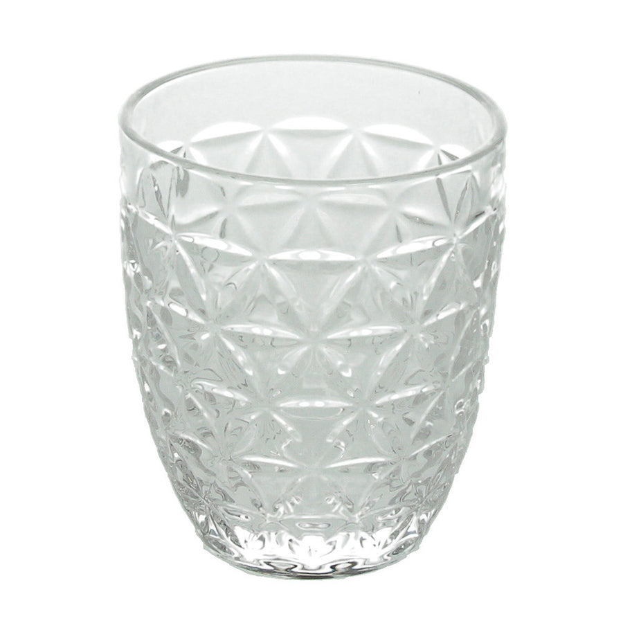 Tognana Abigail Glass Tumbler - Transparent - Box of 6