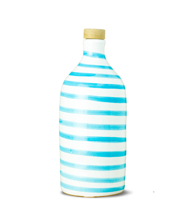 Muraglia Extra Virgin Olive Oil 'Capri Turquoise' terracotta jar 500ml